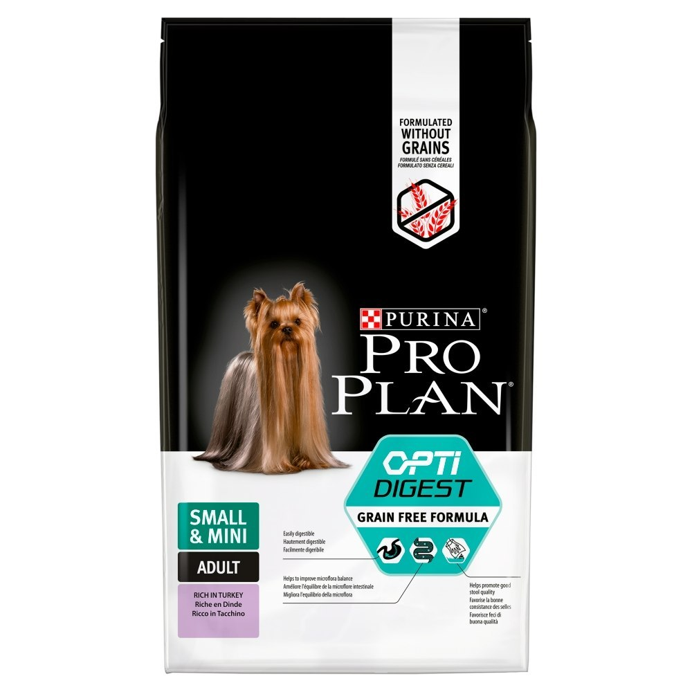 PURINA PRO PLAN Small & Mini Adult Opti Digest Grain Free 7kg