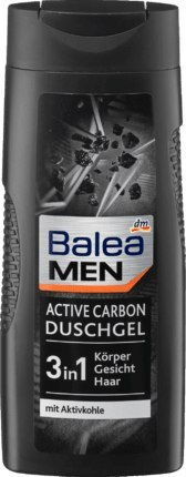 Balea Men Active Carbon Żel pod Prysznic 300 ml Dm-drogerie markt