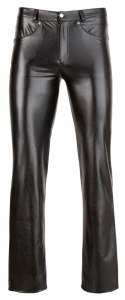 M. Imitat. Leather Trousers XL Svenjoyment