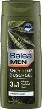 Balea Men żel pod prysznic Spicy Hemp 300 ml Dm-drogerie markt