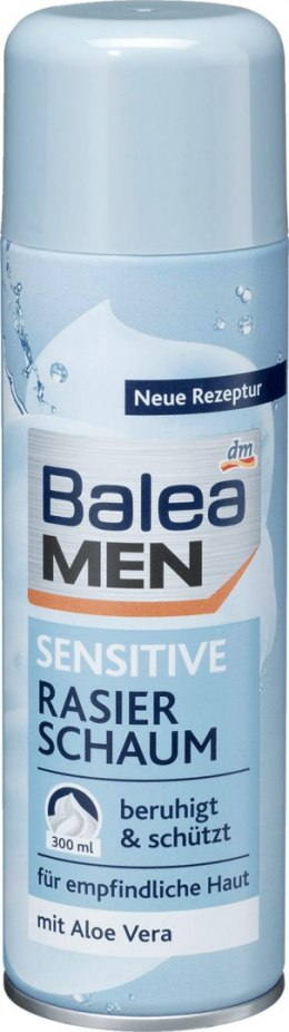 Balea Men Sensitive Pianka do Golenia 300 ml Balea
