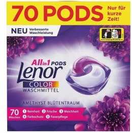 Lenor Color Ametyst Kapsułki do Prania 70 szt. Procter & Gamble