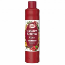 Hela Ketchup Curry Extra Scharf - Extra Ostry 800 ml Hela